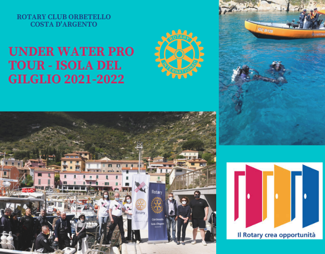 Under Water Pro Tour – Isola del Giglio 2021-2022